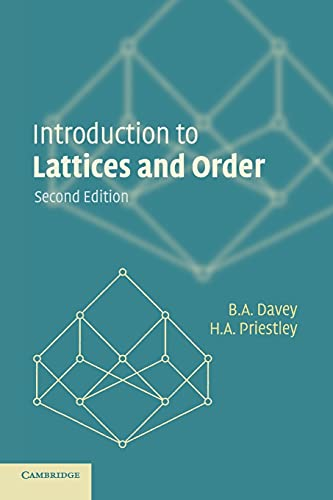 9780521784511: Introduction to Lattices and Order 2nd Edition Paperback