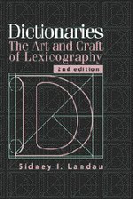 9780521785129: Dictionaries: The Art and Craft of Lexicography