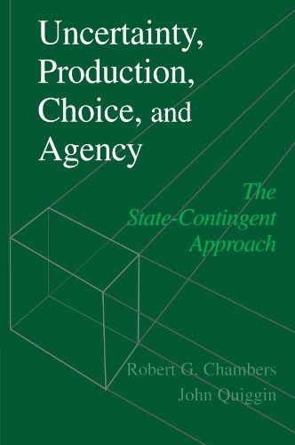 Uncertainty Production Choice and Agency the State-Contingent Approach