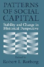 9780521785754: Patterns of Social Capital: Stability and Change in Historical Perspective (Studies in Interdisciplinary History)