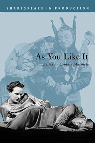 9780521786492: As You Like It (Shakespeare in Production)