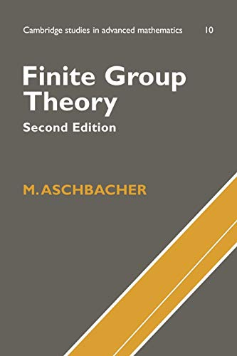 9780521786751: Finite Group Theory (Cambridge Studies in Advanced Mathematics)