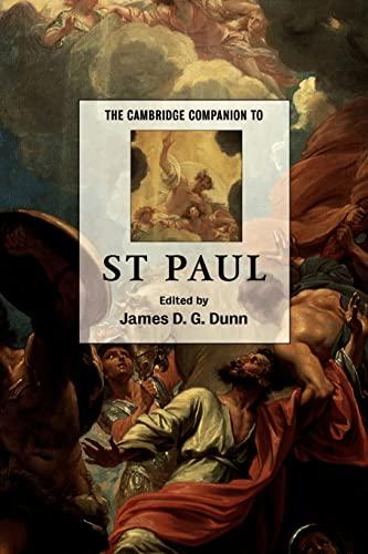 9780521786942: The Cambridge Companion to St Paul Paperback (Cambridge Companions to Religion)