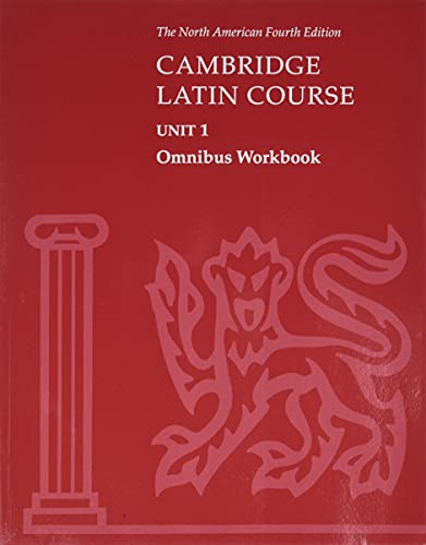 9780521787475: Cambridge Latin Course Unit 1 Omnibus Workbook North American edition: Omnibus Workbook Unit 1 (North American Cambridge Latin Course)