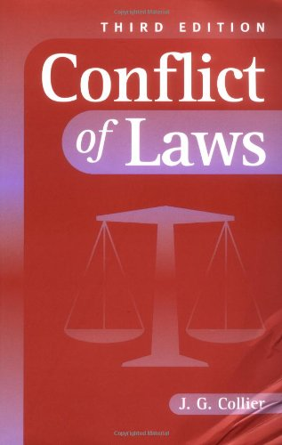 9780521787819: Conflict of Laws