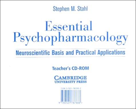 9780521787888: Essential Psychopharmacology Teacher's CD-ROM (Essential Psychopharmacology Series)