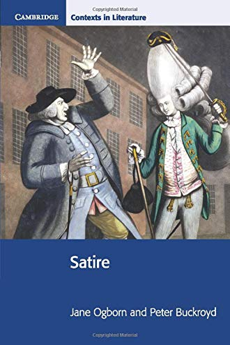 9780521787918: Satire (Cambridge Contexts in Literature)