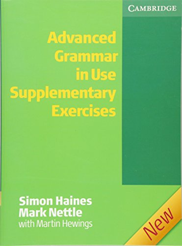 9780521788069: Advanced Grammar in Use Supplementary Exercises without Answers