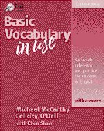9780521788656: Basic Vocabulary in Use with Answers Student's Book with Ans w/ Audio CD