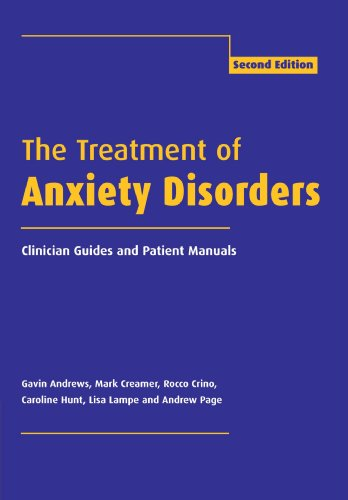 9780521788779: The Treatment of Anxiety Disorders: Clinician Guides and Patient Manuals