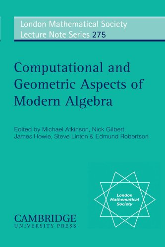 9780521788892: Computational and Geometric Aspects of Modern Algebra (London Mathematical Society Lecture Note Series)