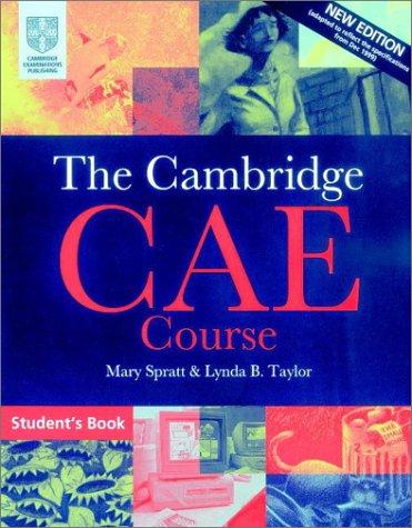 9780521788977: The Cambridge CAE Course Student's Book (Cambridge Books for Cambridge Exams)