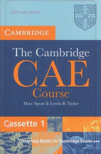 9780521789004: The Cambridge CAE Course Audio Cassette Set (3 Cassettes) (Cambridge Books for Cambridge Exams)