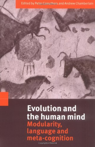 9780521789080: Evolution and the Human Mind: Modularity, Language and Meta-Cognition
