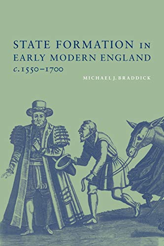 9780521789554: State Formation in Early Modern England, c.1550-1700