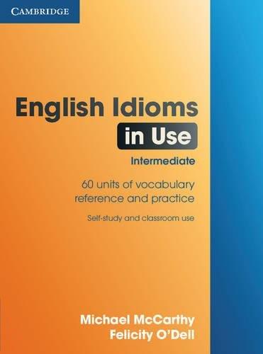 9780521789578: English Idioms in Use Intermediate (In use series)