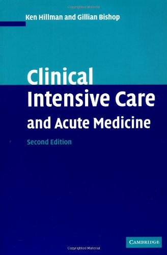 9780521789806: Clinical Intensive Care and Acute Medicine