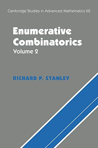 9780521789875: 2: Enumerative Combinatorics: v. 2 (Cambridge Studies in Advanced Mathematics)