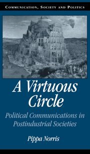 9780521790154: A Virtuous Circle Hardback: Political Communications in Postindustrial Societies (Communication, Society and Politics)