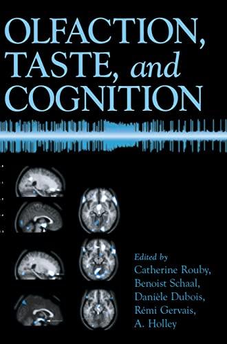 9780521790581: Olfaction, Taste, and Cognition Hardback