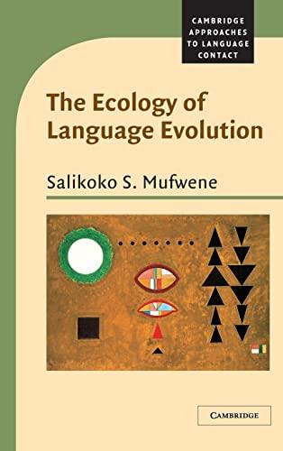 9780521791380: The Ecology of Language Evolution