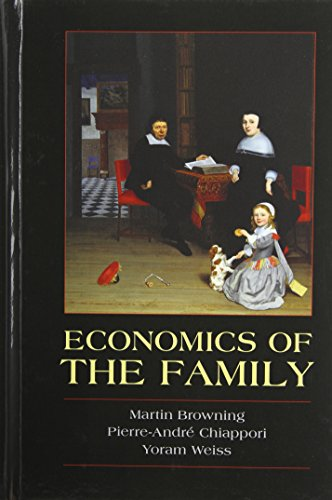 9780521791595: Economics of the Family (Cambridge Surveys of Economic Literature)
