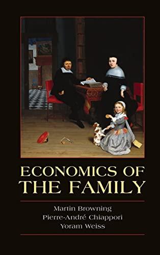 9780521791595: Economics of the Family