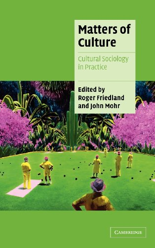 9780521791625: Matters of Culture: Cultural Sociology in Practice