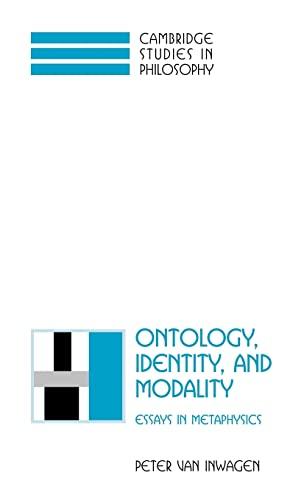 9780521791649: Ontology, Identity, and Modality: Essays in Metaphysics