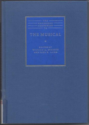 9780521791892: The Cambridge Companion to the Musical (Cambridge Companions to Music)