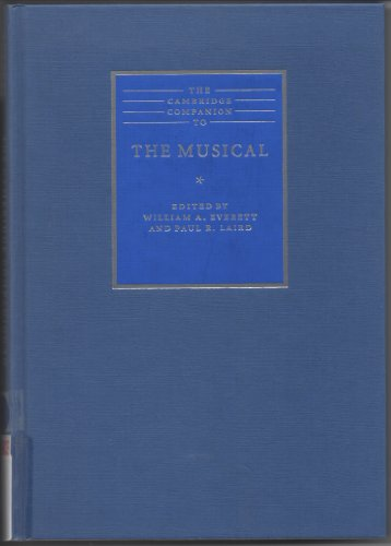 9780521791892: The Cambridge Companion to the Musical