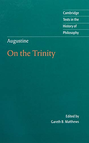 9780521792318: Augustine: On the Trinity Books 8-15 (Cambridge Texts in the History of Philosophy)