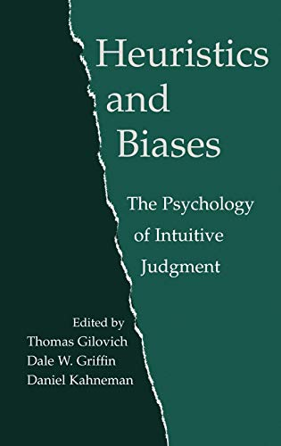 9780521792608: Heuristics and Biases: The Psychology of Intuitive Judgment