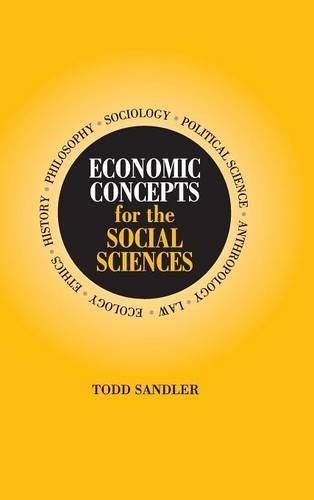 9780521792622: Economic Concepts for the Social Sciences