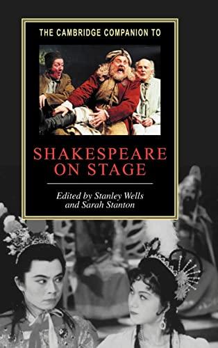 9780521792950: The Cambridge Companion to Shakespeare on Stage (Cambridge Companions to Literature)