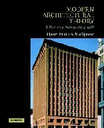 9780521793063: Modern Architectural Theory: A Historical Survey, 1673-1968