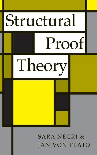 9780521793070: Structural Proof Theory