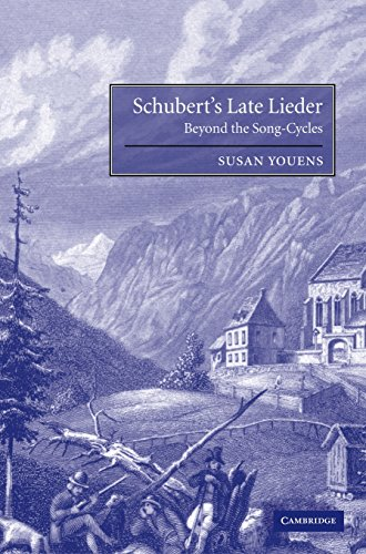 9780521793148: Schubert's Late Lieder: Beyond the Song-Cycles