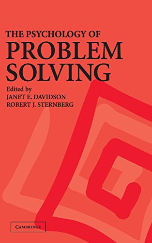9780521793339: The Psychology of Problem Solving