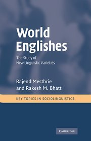 9780521793414: World Englishes: The Study of New Linguistic Varieties
