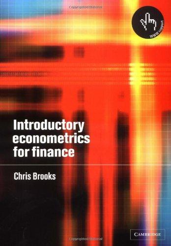 9780521793674: Introductory Econometrics for Finance