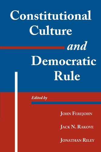 9780521793704: Constitutional Culture and Democratic Rule (Murphy Institute Studies in Political Economy)
