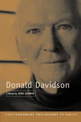 Donald Davidson.: Ludwig, Kirk (ed.)