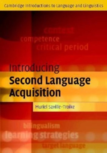 9780521794077: Introducing Second Language Acquisition (Cambridge Introductions to Language and Linguistics)