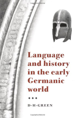 9780521794237: Language and History in the Early Germanic World