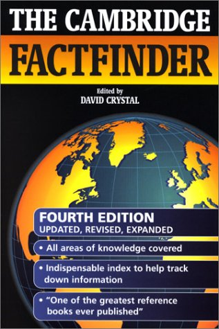 9780521794350: The Cambridge Factfinder