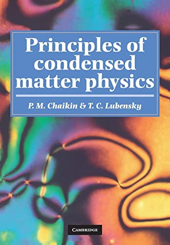 9780521794503: Principles of Condensed Matter Physics