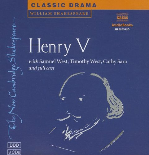9780521794695: King Henry V CD Set (New Cambridge Shakespeare Audio)