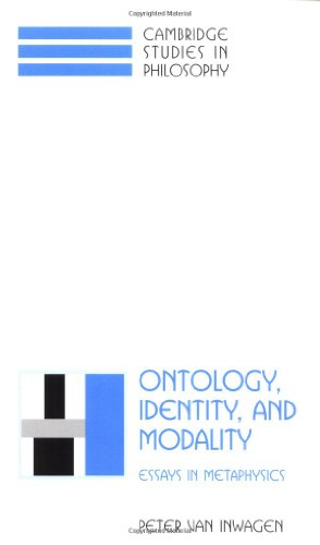 9780521795487: Ontology, Identity, and Modality: Essays in Metaphysics (Cambridge Studies in Philosophy)