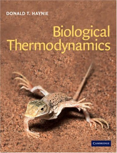 9780521795494: Biological Thermodynamics